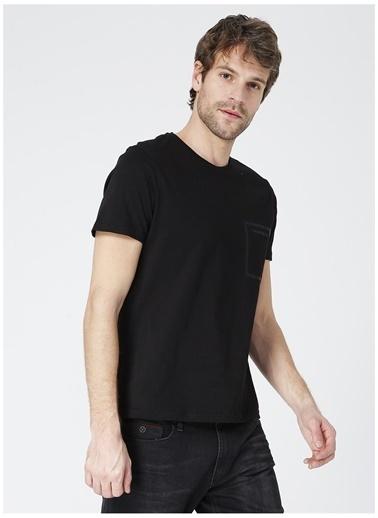 Black On Black Black On Black Newyork Siyah Erkek T-Shirt Siyah